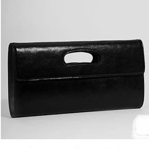 Hobo Katrina Foldover Leather Clutch